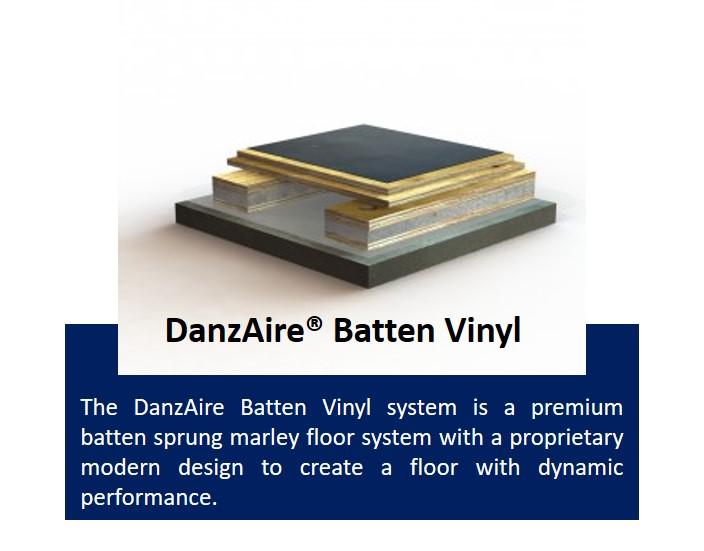 DanzAire Batten Vinyl
