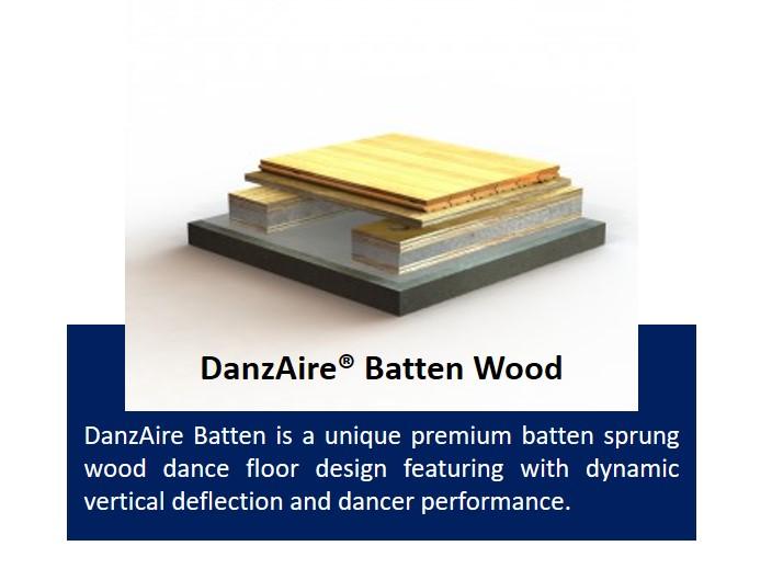 DanzAire Batten Wood