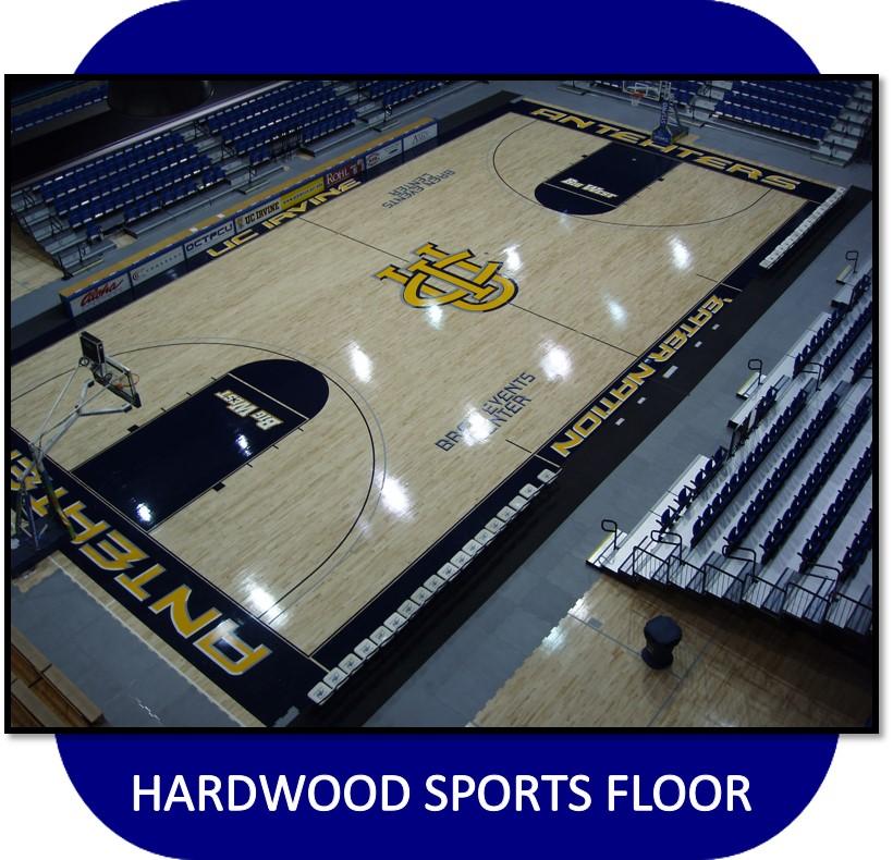 Hardwood Sports Floor