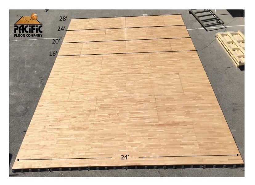 Portable Floor Sizes